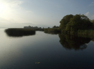 Lough Derg is Ireland's second-largest lake and covers an area of 118 square kilometres