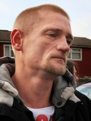 Stuart Hazell,37, the partner of Christine Sharp, grandmother of missing Tia Sharp