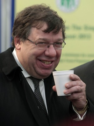 Brian Cowen in September 2010 ten days after that infamous night in Galway
