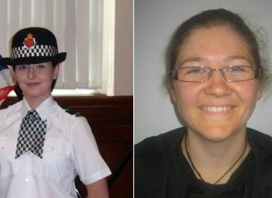 PC Nicola Hughes, aged 23 and PC Fiona Bone, aged 32