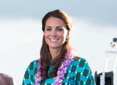 Kate smiles through the pain, etc etc