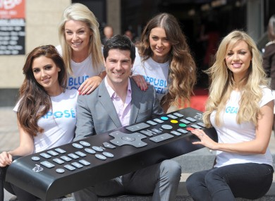 Craig Doyle's getting out his big remote for UPC's latest channels