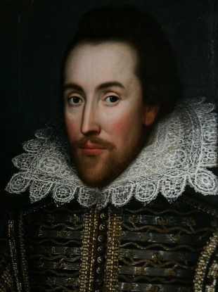 The Cobbe portrait - a newly discovered painting believed to depict William Shakespeare and have been painted during his lifetime.