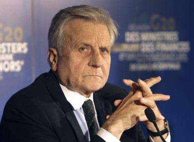 Lenihan's letter to Jean-Claude Trichet, pictured, came after the then-ECB head had raised concerns about the dependancy of Irish banks on ECB funds.
