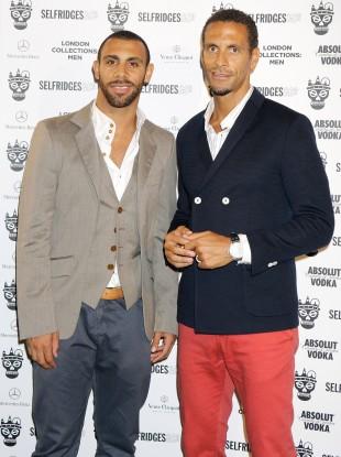 Anton and Rio Ferdinand.
