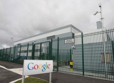Google's data centre in Dublin (file photo).