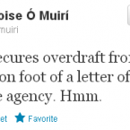 The Dublin Lord Mayor responds to the news of Tallaght Hospital's overdraft.