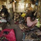 Tanzanian craftsmen hard at work.