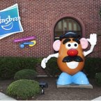 The company behind Transformers and G.I. Joes began in 1923 as Hassenfeld Brothers. The titular brothers didn't make toys, though; they sold textile remnants. Their business gradually shifted into school supplies before making the leap to toys after the 1952 introduction of Mr. Potato Head. (Pic: CNN Money)