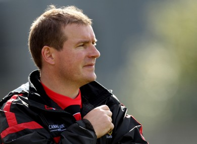 Down's James McCartan has confirmed his backroom team for the upcoming campaign.