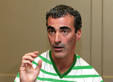 Jim McGuinness in our artist's rendition of a Celtic strip.