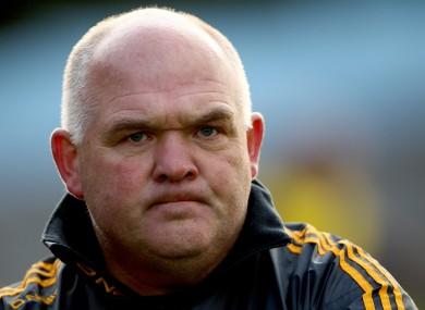 New Roscommon manager John Evans.