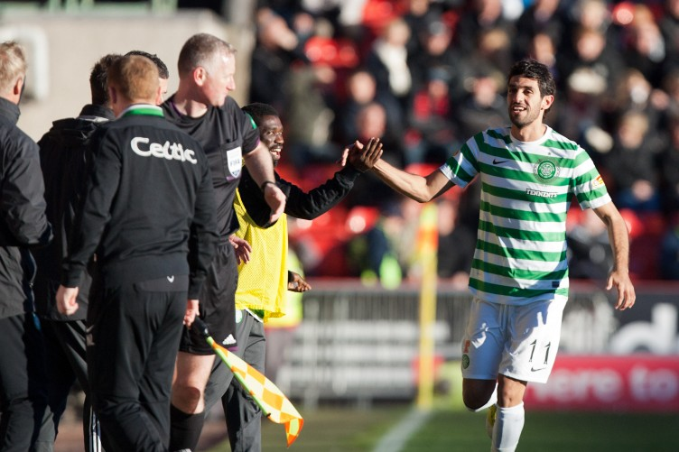 eb7f49fd13 SPL  Nouioui opens Celtic account at Pittodrie · The42
