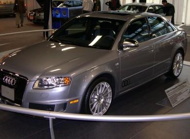 A rare Audi S4 model released in 2006 (File photo)