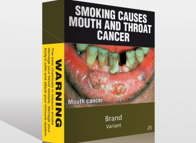 Essay/Term paper: Tobacco advertising and its dangerous effects on young people.