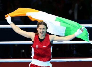 Olympic gold medallist Katie Taylor tops trending people of 2012.