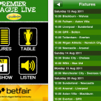 Today FM's specialised Premier League app has live commentary every Saturday afternoon as well as pre-match build-up and post-match comment. Makes shopping for curtain fabric slightly more bearable.