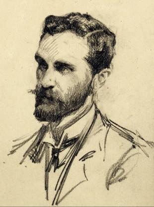 Portrait of Roger Casement.