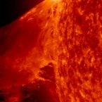 Solar activity in extreme UV light. Image: Solar Dynamics Observatory/NASA