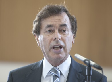Fine Gael Minister for Justice and Defence Alan Shatter