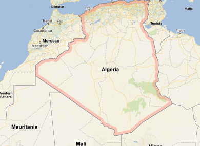 Algeria lies to the north of Mali in north-west Africa.