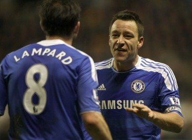 Devastated  JT wants Chelsea to retire Lampard s No8 shirt · The42 d3b3423a7