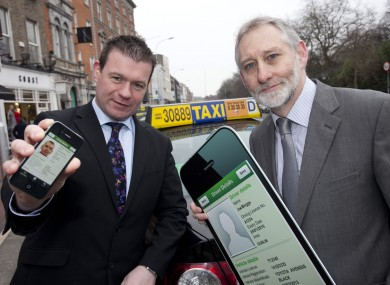 Minister Alan Kelly and Gerry Murphy, CEO of the National Transport Authority