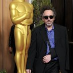 Tim Burton looked like Tim Burton.  Imagine he showed up to an event rocking proper old Hollywood glamour?  THAT would be interesting. (Chris Pizzello/Invision/AP)