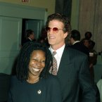 Do you need a minute?  We needed a minute.  It's hard to get your head around this pairing, but Ted's affair with Whoopi in the 90s actually led to the demise of his second marriage. AP Photo/Malcolm Clarke