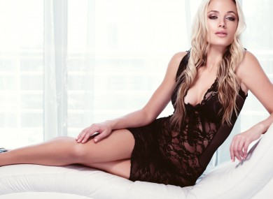Reeva, 29, during one of her shoots last year.