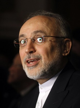 File photo of Iranian foreign minister Ali Akbar Salehi, who is visiting Syria this weekend.