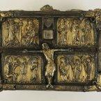 The Domhnach Airgid Shrine 1350. (Image via The Royal Irish Academy)