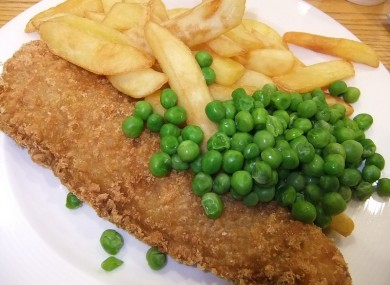 Will you be sticking to fish and chips tomorrow?