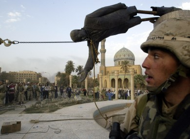 10 years on iraq war said to have cost at least 112 000 civilian lives