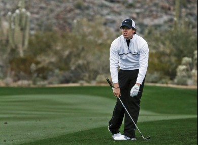 McIlroy has been off form of late.