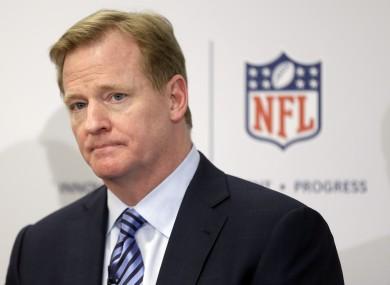 NFL boss Roger Goodell.