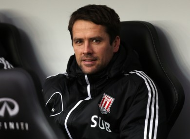Owen has been limited mainly to substitute appearances for Stoke this season.