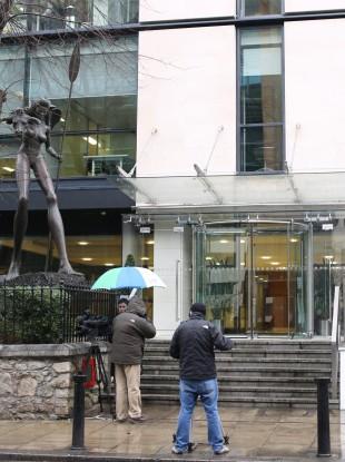 Irish Bank Resolution Corporation headquarters on the Burlington Road in Dublin 4