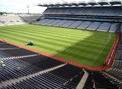 Croke Park is set to host some key games over the next few weeks.