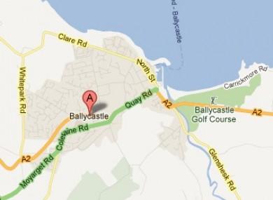 Ballycastle in Co Antrim