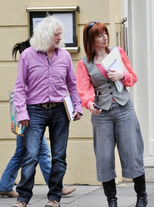 Mick Wallace and Clare Daly (File photo)
