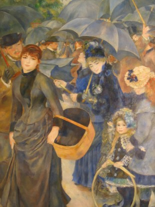Les Parapluies or The Umbrellas by Auguste Renoir