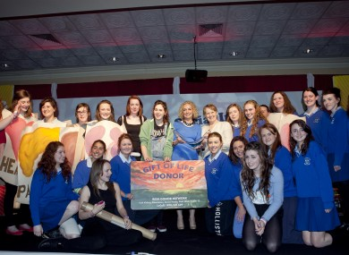 Students from Eureka Secondary School from Kells have been named the Young Social Innovators of the Year 2013 with their project titled 'Bring Organ Donation Into Education'.