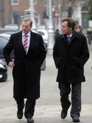 Enda Kenny and Alan Shatter