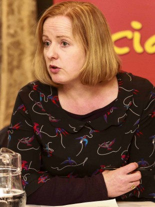Campaign Against Household and Water Charges spokesperson Ruth Coppinger