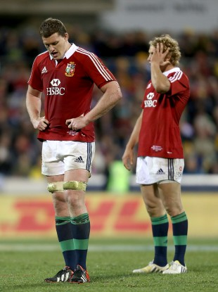 Ian Evans and Billy Twelvetrees reflect on a 14-12 loss.