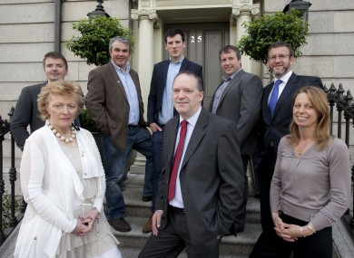 The eight shortlisted Social Entrepreneurs Ireland finalists today.