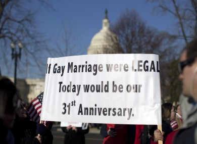 Is gay marriage unconstitutional