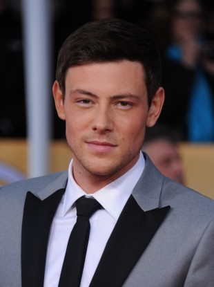 Cory Monteith arrives at the 19th Annual Screen Actors Guild Awards at the Shrine Auditorium in Los Angeles on 27 January this year.