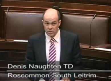 Independent TD Denis Naughton